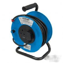 Cable Reel 240V Freestanding 13A 25m 2 Socket